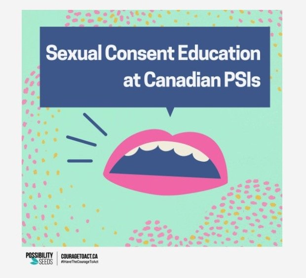 Sexual Consent Education at Canadian Post-Secondary Institutions